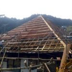 屋根張り替え作業イベント
