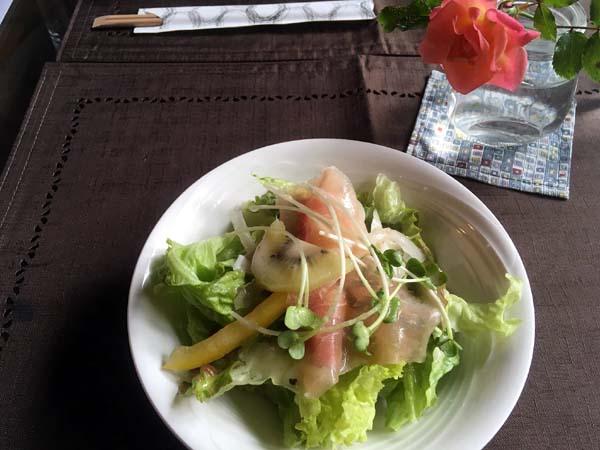 ルーラルガーデンカフェのサラダ