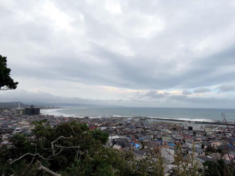平舘稲荷山からの景色