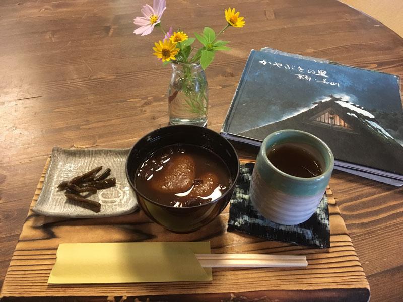 カフェ・ギャラリー彩花のぜんざい