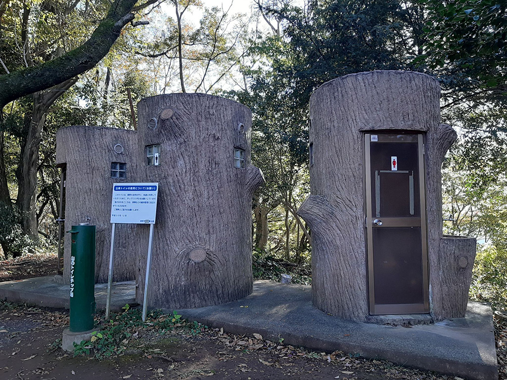 途中のトイレ